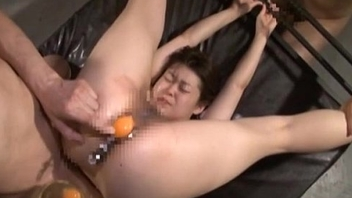 Extreme Japanese AV hardcore sex leads to raw step on it speculum
