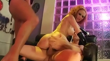 Audrey Hollander Redhead Anal DP 3some