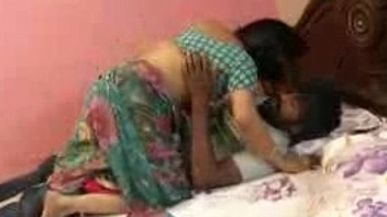 (Mp4Videos.Org) Romanticist Aunty With 2 Guys Non Take into custody Romancing Masala Latest Telugu Romanticist Short Fi