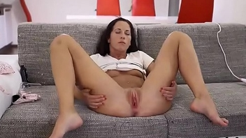 Wacky czech cutie gapes her wringing wet seize to be transferred to special