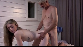 Old step dad wants cock massage fucked hard with cutie step daughter