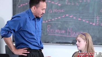 Skinny High School Explicit Dolly Leigh Fucked Away from Music Tutor