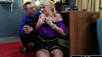 Leya Falcon Loves It Right away Her Boss Treats Her Like a Naughty Girl