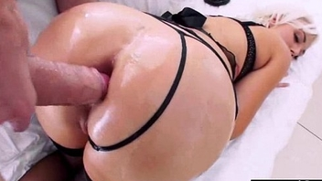 Big Oiled Butt Girl (jenna ivory) Obtain Hard Nailed In Her Behind clip-10