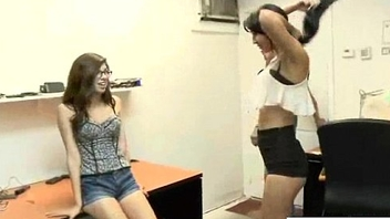 Teen Hot Girl (Esmi Lee&amp_Ava Taylor) For Cash Get Sluty And Flourish On Camera clip-11