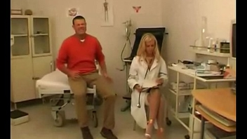 Wild Dutch Blonde Doctor Fucking