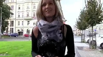 Public Orall-service With Sexy Tyro European Slut For Cash 09