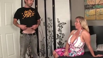 Boy Fucking pule his Mom Huge Tits Milf