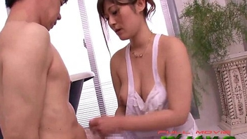Bigtitted japanese massges cock with her body wojav.com