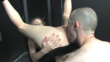Ass Eating Slave in Bondage with Kelsey Faddist