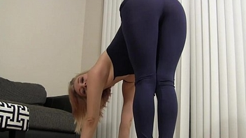 I know u cherish watching me do my yoga JOI